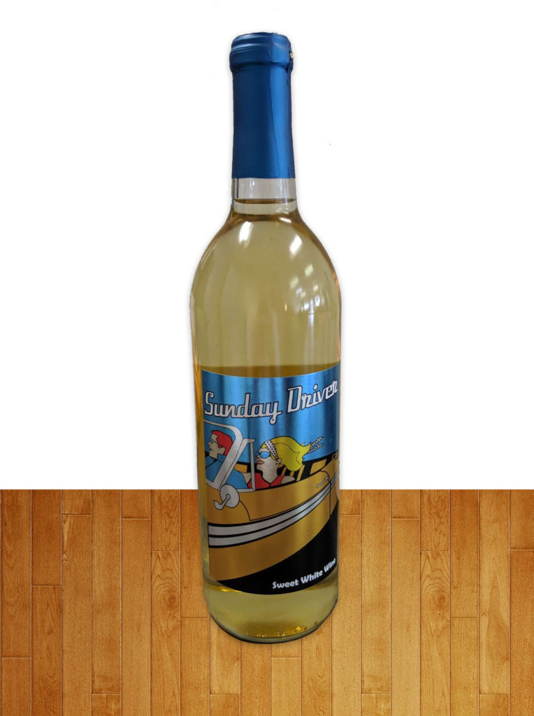 Sweet White Wine Contains Sulfites