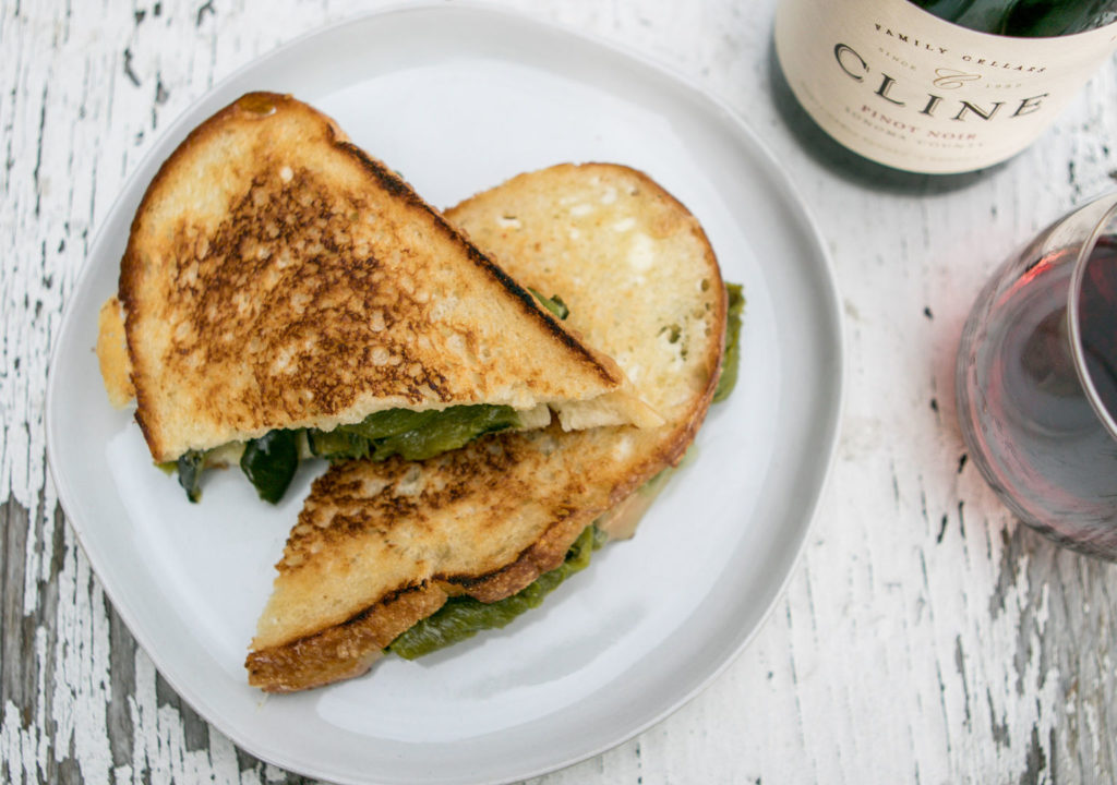 POBLANO PICASSO GRILLED CHEESE
